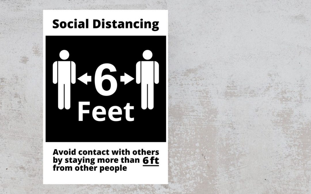 avoid_contact_with_others_by_standing_more_than_6_feet_from_other_people_black_white_sticker