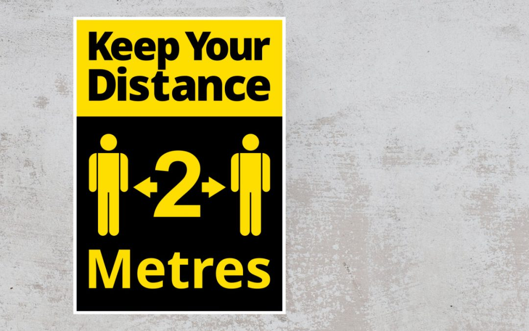 keep your distance 2m